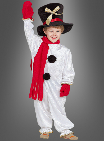 Snowman Children Costume