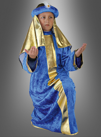 Magus blue children costume