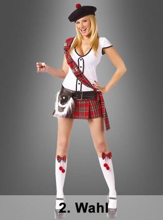 2. Wahl Schottin Kostüm