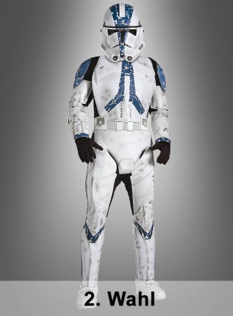 2. Wahl DELUXE STAR WARS Clone Trooper Kinderkostüm