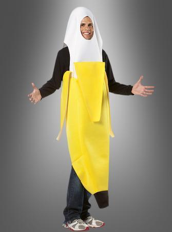 Peeled Banana Costume