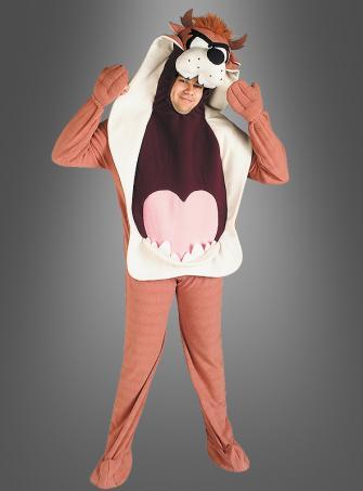 Adult Taz polar fleece costume