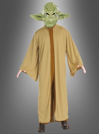 Original STAR WARS Deluxe Yoda Kostüm f. Erwachsene