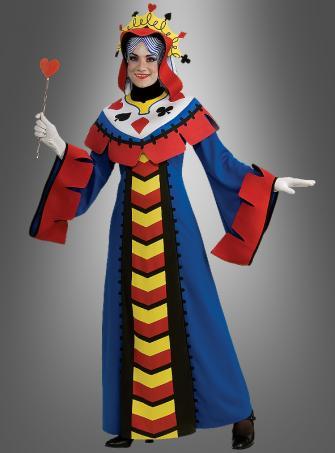 Spielkarte Königin Kostüm