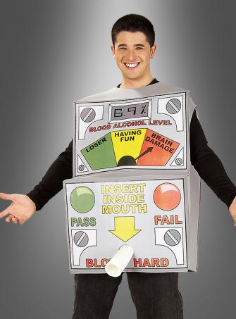 Breath Analyzer fun costume