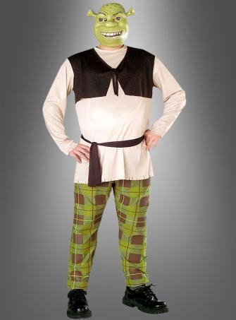 Shrek Kostüm Übergröße XXXL
