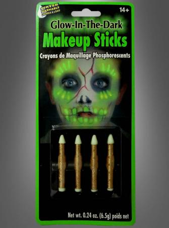 Green Glow Makeup Sticks