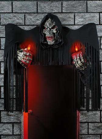 Türdekoration Grim Reaper 180 cm