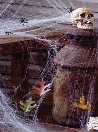 Halloween Spinnennetz In- und Outdoor