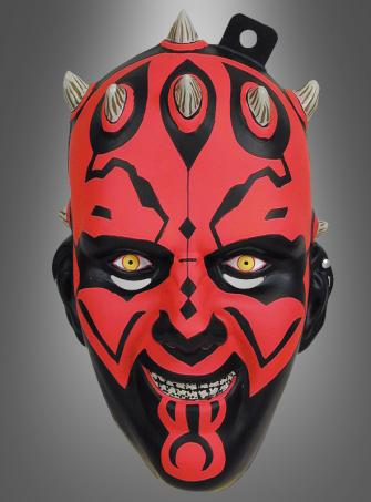 STAR WARS Darth Maul Halbmaske Kinder
