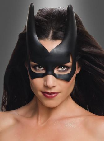 Batgirl Maske schwarz