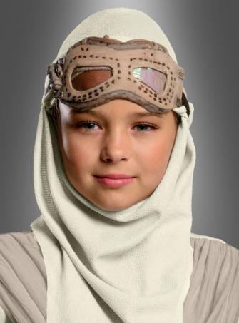 Star Wars 7 Rey Brille mit Kapuze für Kinder