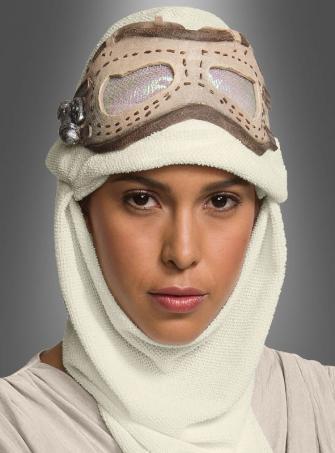 Star Wars Rey Brille und Haube Erwachsene