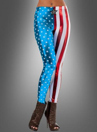 Captain America Leggings für Damen