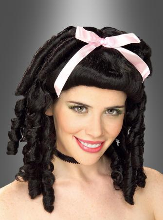 Lady Wig Curls Black