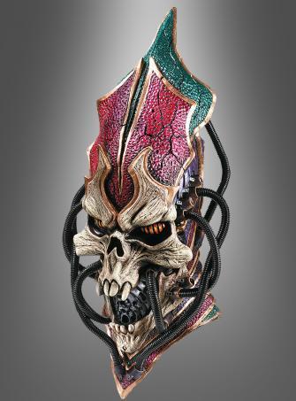 Cyber Samurai super DELUXE Kreatur übergroße Latex Maske