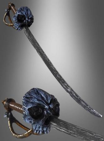 Schwert mit Totenkopf Pirat