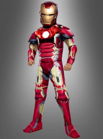 Deluxe Iron Man Mark 43 Kinderkostüm