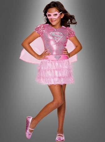 Pink Supergirl Tutu Dress