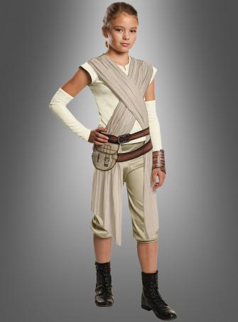 Rey Star Wars Deluxe Kinderkostüm