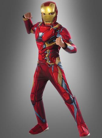 Iron Man Civil War Children Costume Deluxe