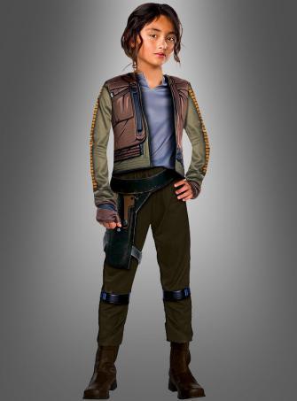 Star Wars Deluxe Jyn Erso Mädchenkostüm
