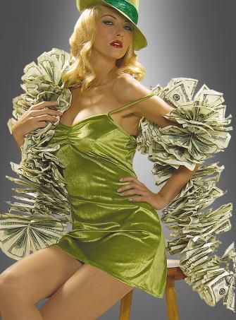 Money Boa costume accessoire