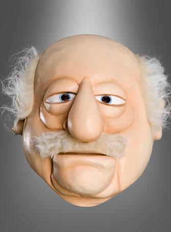 Waldorf Muppets Latex Overhead Mask