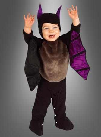 Baby Kostüm Fledermaus Strampler