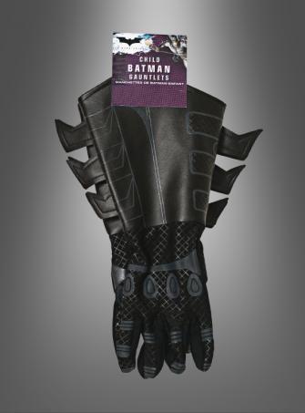 Kinder Handschuhe für Batman Kostüm The Dark Knight