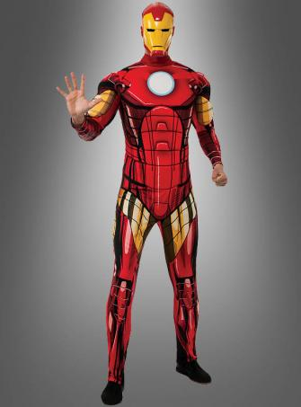 Iron Man Retro Muskelkostüm