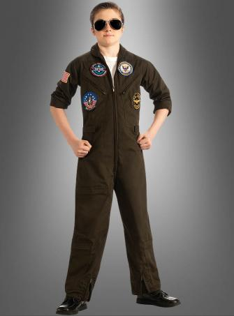Top Gun Children Costume