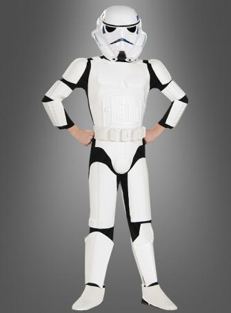 STAR WARS Deluxe Stormtrooper children costume