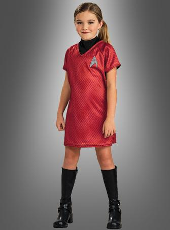 STAR TREK Uhura Kleid Kinderkostüm