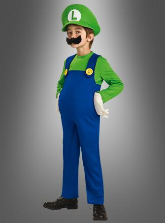 Deluxe Super Luigi child costume
