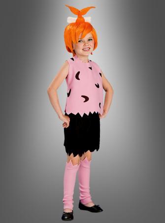 Flintstones Pepples Children Costume pink