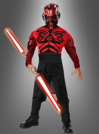 Deluxe Darth Maul child muscle chest costume