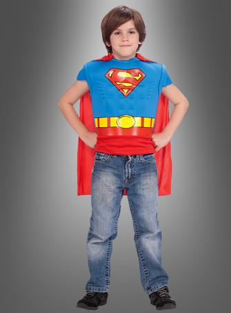 Superman Muskelshirt für Kinder