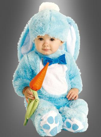 Blue Rabbit Bunny baby costume