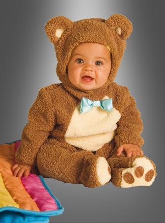 Teddybär Babykostüm Bärchen Strampelanzug
