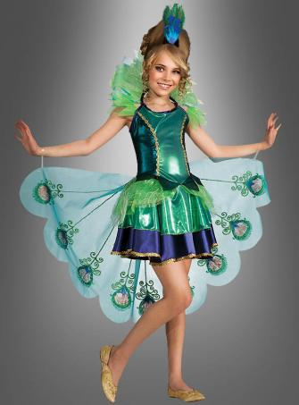 Peacock Costume for little Girls
