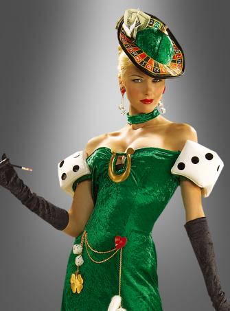 Lady Luck costume casino gambler