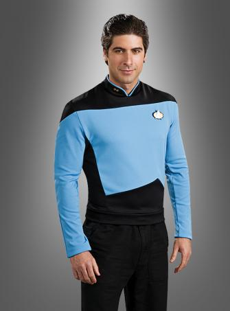 STAR TREK blaues Shirt The Next Generation