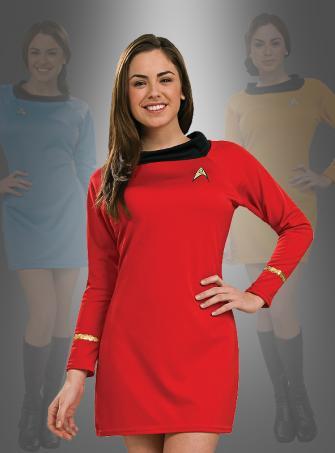 Kleid STAR TREK Classic rot