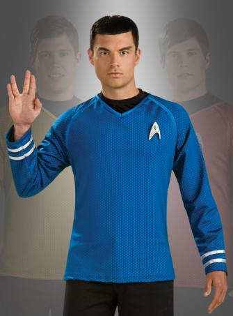 Star Trek Film XI Grand Heritage Shirt blau Spock