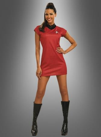 Star Trek Movie Red Dress Uhura