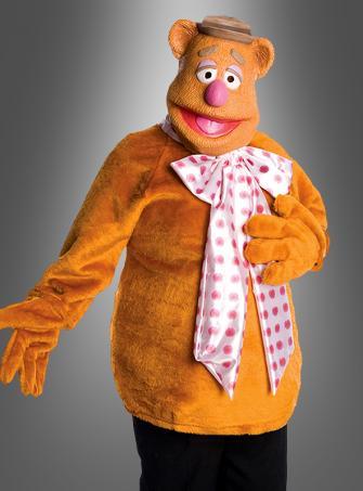 Fozzie Bär Muppets mit Halbmaske