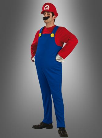 Deluxe Super Mario  adult costume