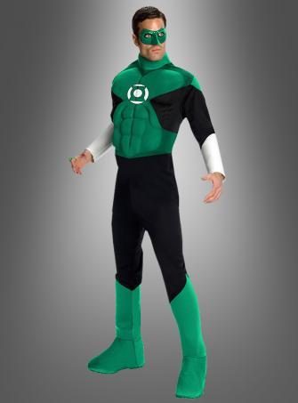 Green Lantern Deluxe Muskelkostüm