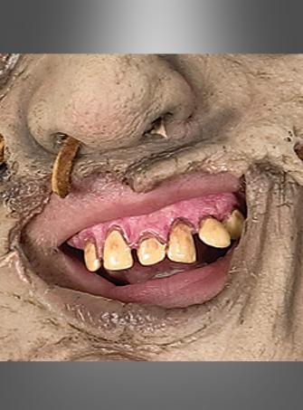 Leatherface Zähne Gebiss